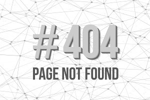 Page Not Found Vector Background