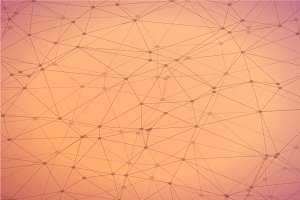 Polygonal Wireframe Network Texture