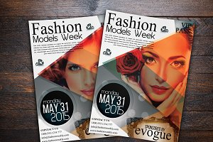 Fashion Models Week Flyer