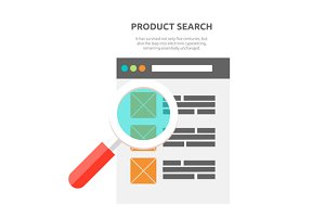 Search Product Website