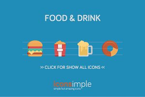 iconsimple: food & drink