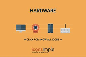 iconsimple: hardware