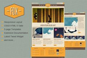 Fox - HTML Template