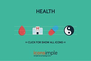 iconsimple: health