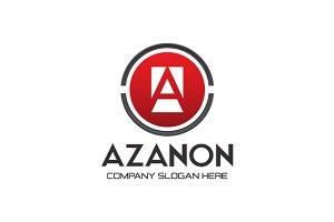 Circular Letter A Logo