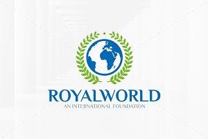 Royal World Logo Template