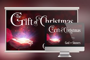 Christmas Sermon Slide Template