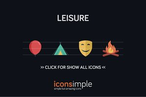 iconsimple: leisure