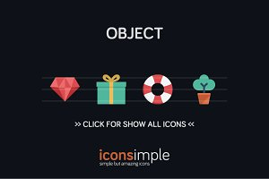 iconsimple: object