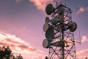Communication tower IV
