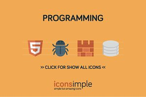 iconsimple: programming
