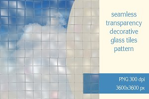 Transparency glass tiles pattern