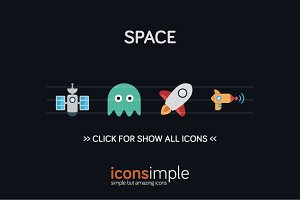 iconsimple: space