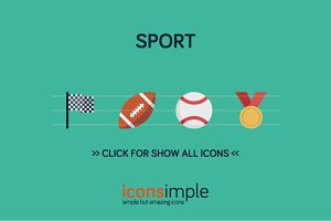 iconsimple: sport