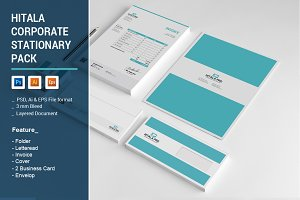 Hitala Corporate Stationary Pack