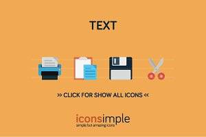 iconsimple: text