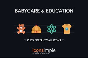 iconsimple: babycare & education