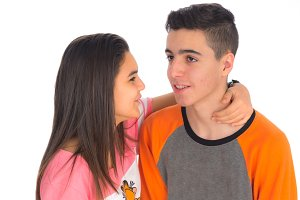Funny teen couple IV