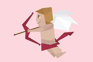 Cupid Vector Graphic