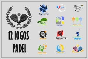 12 Logos Padel