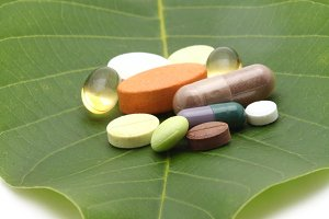 vitamins, tablets and pills