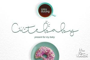 Cute Baby Script