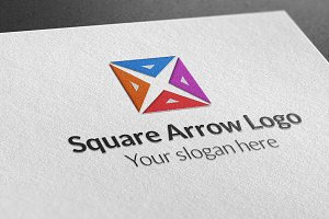 Square Arrow Logo