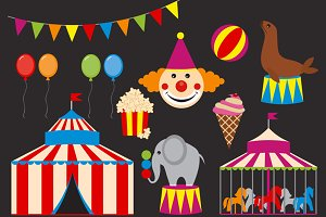 Digital Circus Clip Art