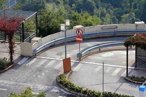 Crosswalk in San Marino.