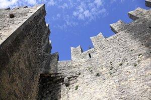 La Rocca o Guaita fortress. San Marino. Europe.