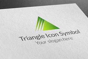 Triangle Icon Symbol Logo