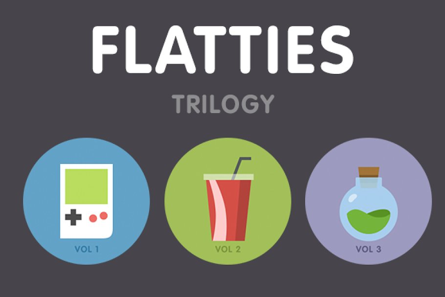 Flatties Icon Trilogy