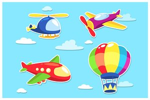 Air Transportation Cartoon
