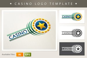 Casino Logo Template