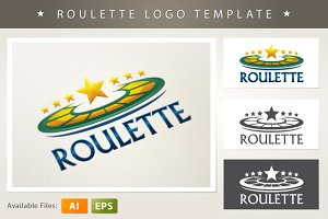 Roulette Logo Template