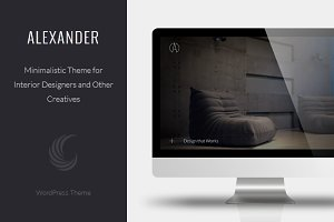 Alexander - A Interior Design Theme