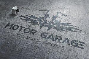 Motor Garage Logo