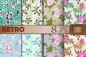 Paper Retro Floral