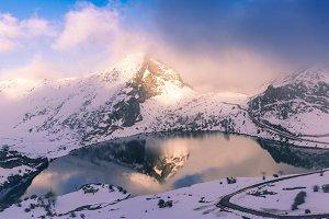 Enol lake, Picos de Europa N.P. II
