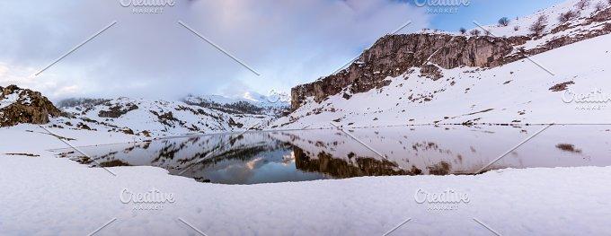 Ercina lake, Picos de Europa N.P. - Nature