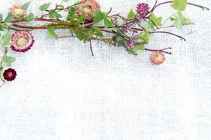Linen & Flowers
