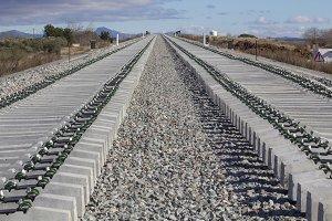 Railway under construction