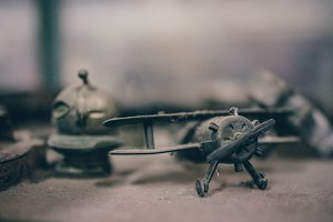 Metal Toy Plane