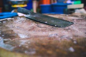 Kitchen Machete Knife