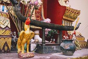 Cock Statue