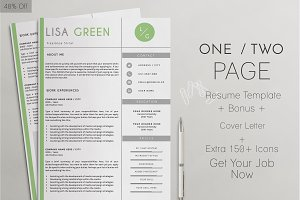 Professional Resume Template_LISA G