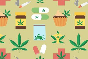 Medical marijuana pattern