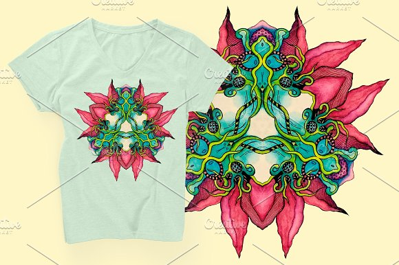Abstract element for T-shirt - Objects