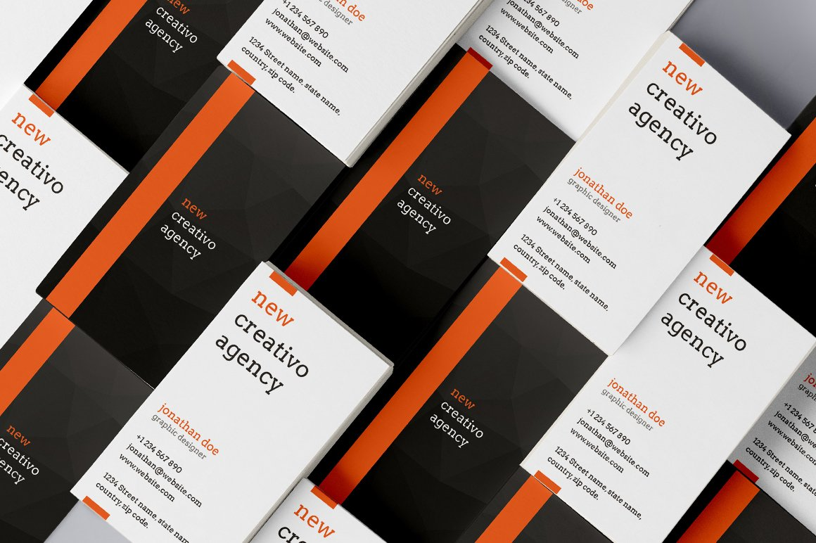Image result for creative agency business card design