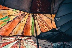 Grunge Umbrellas